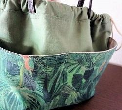 巾着式バッグインバッグジャングル・タペストりー8.JPG